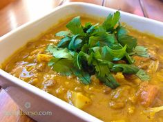 Warm and Cozy Coconut Curry Lentil Soup!