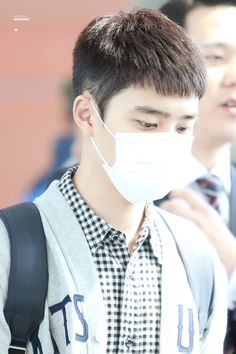 D.O - 160425 Shenyang Airport, departing for Incheon  Credit: Kaiser & Dolly. (선양공항 출국)