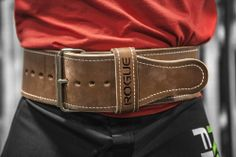 The Rogue Ohio Lifting Belt is hand-crafted to offer a stronger, longer-lasting alternative for those serious about strength training. Made in Ohio. Weight Training, Weight Lifting, Powerlifting Gear, Tanning Hides, Strength Training Equipment, Gym Equipment, Workout Belt, Crossfit Gym, Power Rack