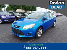 2013 Ford Focus SE 38k miles $11,995 38250 miles 586-207-7664 Transmission: Automatic  #Ford #Focus #used #cars #DorianFord #ClintonTownship #MI #tapcars