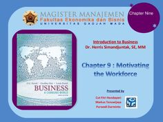 171013-chapter-9-motivating-the-workforce by Purwedi Darminto via Slideshare