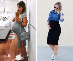 Pregnant Fashion: 5 tips to be a pregnant fashion – Fair … – Baby Pregnancy Wardrobe, Pregnancy Outfits, Maternity Outfits, Stylish Maternity, Maternity Fashion, Pregnacy Fashion, Fashion Vestidos, How To Pose, Tight Dresses