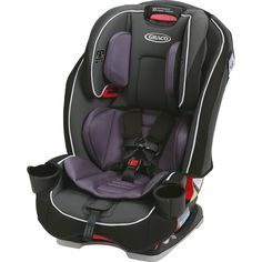The Graco SlimFit All-in-One Convertible Car Seat saves space in your car as it grows with your baby. Its narrower design provides some extra room in the back seat, and it features swiveling cup holders that rotate away for added convenience. Forward Facing Car Seat, Best Convertible Car Seat, Best Baby Car Seats, Toddler Car Seat, Toddler Toys, Infant Toddler, Dads, Walmart, Back Seat