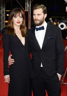 Dakota Johnson e Jamie Dornan (Foto: Pascal Le Segretain/Getty Images)