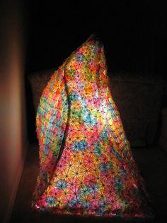Umbrella Lamp - artists Jacob Burghart and Scott Jarvie