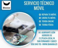 Tu Servicio Técnico Móvil al mejor precio con total GARANTÍA. www.iBanana.es