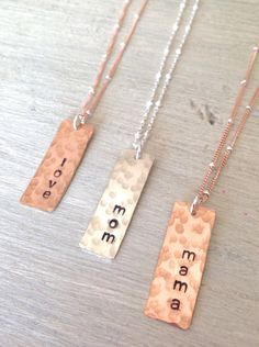 A personal favorite from my Etsy shop https://www.etsy.com/listing/230839002/mom-necklace-mom-jewelry-personalized