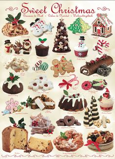 """""""Sweet Christmas"""" ~ a 1000 piece jigsaw puzzle by Eurographics"""