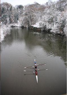 Winter rowing brrrrr