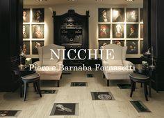 XILO1934   Parquet Design in Rovere Slavonja   Nicchie   Piero e Barnaba Fornasetti