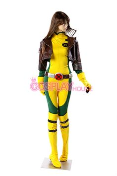 X-men - Rogue Cosplay Costume Version 01, $178.00