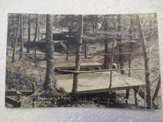 RPPC SHELBY MICHIGAN CAMP MINIWANCA AMERICAN YOUTH FOUNDATION  1930