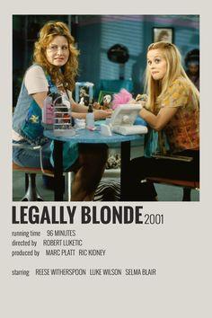 Alternative Minimalist Movie/Show Polaroid Poster - Legally Blonde - Iconic Movie Posters, Minimal Movie Posters, Minimal Poster, Iconic Movies, Good Movies, Film Polaroid, Polaroids, Beau Film, Poster Minimalista