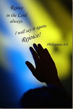Hallelujah Anyhow!: Word Filled Wednesday – Rejoice!