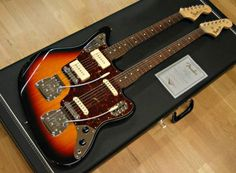 Fender Doubleneck Jazzmaster/Bass VI. This might be the ultimate guitar.