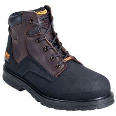 Timberland Pro Boots Men's PowerWelt 47001 Waterproof EH Steel Toe Work Boots