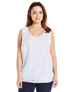 028019eacbf Calvin Klein Women s Plus Size S l Embroidered Top