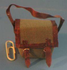 fishing bag, rod, flies and knife holder