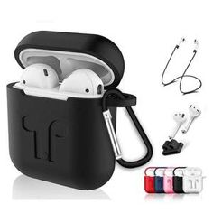 Model Number: Headset Case Cover for iPhone 7 Plus for Airpods earphone case. Size: Phone Bags & Cases Pouch for apple airpods Accessories. Function Headset Case Cover for Airpods earphone case. Function TPU Cover Case Protector for Airpods. Bluetooth Wireless Earphones, Headphones, Headset, Earphone Case, Air Pods, Phone Accessories, Fashion Accessories, Iphone 7 Plus, Iphone 8