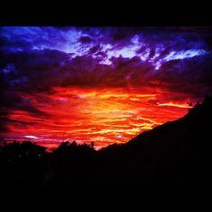 dark sunset ...