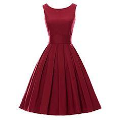 LUOUSE Sommer Damen Ohne Arm Kleid Dress Vintage kleid Ju... https://www.amazon.de/dp/B01DBK2ZKI/ref=cm_sw_r_pi_dp_x_ERKrzbPD58ZWQ