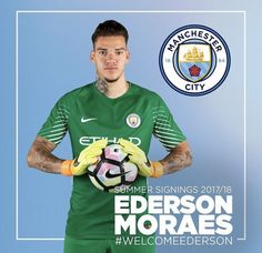 Welcome to Manchester Ederson Moraes #mcfc #manchester