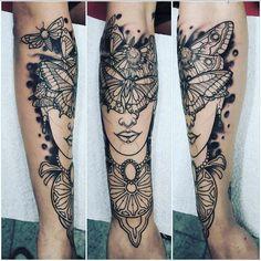 #Repost @ey_dawg_ey  #NikosTsakirisTattoo #tattoo #neotraditionaltattoo #darkart #darkartists #mothlady #mothladytattoo #mothtattoo #butterfly #butterflylady ...under construction... #inkformer