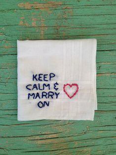 keep caml and marry on - via Pinterest - www.lieschen-heiratet.de