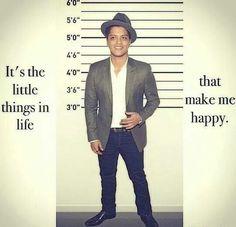 """Bruno Mars is so friking cute :""""3 ♥"""