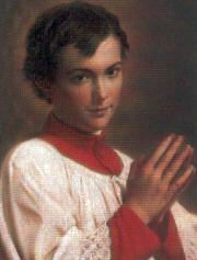 Historically today is the feast of St. Dominic Savio was an Italian adolescent student of Saint John Bosco. He was studying to be a priest when he became ill and died at the age of 14, possibly from pleurisy. #Catholic #saintoftheday #prayforus #StDominicSavio #Lent