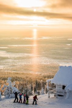 Sunsets in Lapland are just breathtaking! Today In Levi, Finland- All About Lapland Finnish Language, Finland Travel, Winter Songs, Lapland Finland, Arctic Circle, Travel Magazines, Online Travel, Gap Year, Where To Go