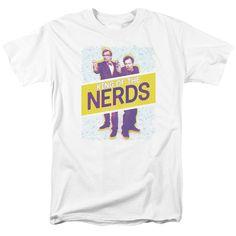 King of the Nerds: Laser Guns T-Shirt