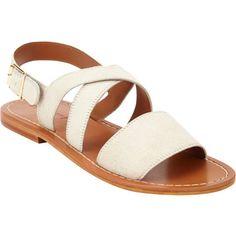 Marni Crisscross Slingback Flat Sandals at Barneys.com