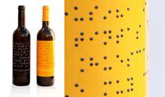 Lazarus Wine's Braille Wine Bottle