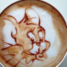 .·:*¨¨*:·. Coffee ♥ Art.·:*¨¨*:·. Jerry. Shh! Don't tell Tom I'm here.