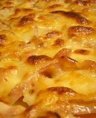 Cheesy Au Gratin Potatoes at MissHomemade.com