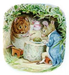 The Tale of Johnny Town-Mouse - We will have herb pudding and sit in the sun