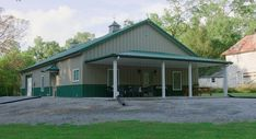 From basic to bold, Morton Buildings builds the finest pole barns, equestrian buildings, steel buildings and more. Learn about post-frame construction here Morton Homes, Morton Building Homes, Building A New Home, Pole Barn Homes, Garage Makeover, Steel Buildings, Barndominium, Metal Homes, Cabin Plans