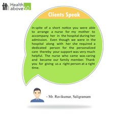 Our success has been driven by your satisfaction. #Healthabove60  #PatientTestimonial #PostiveFeedback