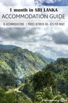 Looking for a place to stay in Sri Lanka? Check my accommodation guide! We stayed at 16 different accommodations, prices were between €6 and €25 per night.