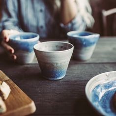 Coffee Cup - Blue Nightfall