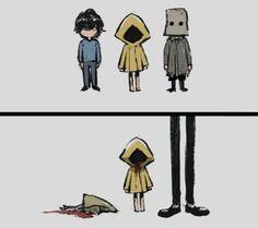 Geek Culture, Pop Culture, Little Nightmares Fanart, Fandom Games, Mini Comic, Drawing Skills, Cute Anime Couples, Night Terror, Bioshock