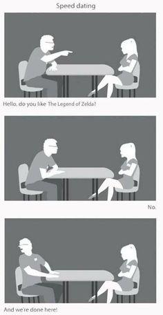 Geek Speed Dating - Legend of Zelda