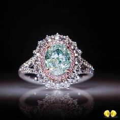 *** Fantastic deals on wonderful jewelry at http://jewelrydealsnow.com/?a=jewelry_deals *** Novel Collection. As rare as it gets, fancy green diamonds are considered one…