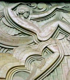 Art Deco Folies-Bergere Facade, Alan Leclaire