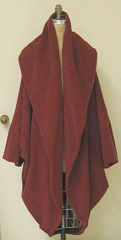 Wool Coat - Romeo Gigli - 1987  I have a similar coat in navy.