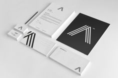 Aether Sign™ / Corporate Identity by Miki Stefanoski, via Behance