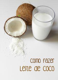 Faça o seu próprio leite de coco em casa, de forma rápida e simples!