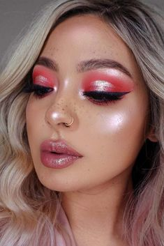 27 Sexy Makeup Ideas For Valentines Day 27 Sexy Makeup Ideas For Valentines Day,Make up Inspiration Related Flawless Silver Eye Makeup Looks You . Silver Eye Makeup, Pink Makeup, Cute Makeup, Glam Makeup, Gorgeous Makeup, Simple Makeup, Makeup Inspo, Makeup Art, Makeup Inspiration