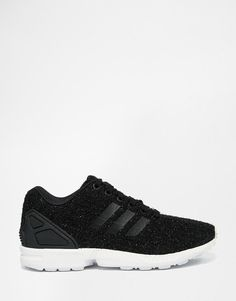 Adidas | adidas Originals ZX Flux Lux Fabric Trainers at ASOS